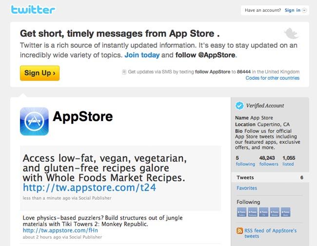 Apple App Twitter