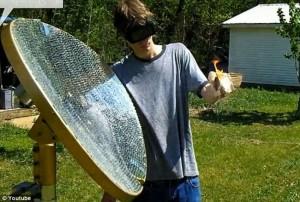 American Teen Builds Backyard Death Ray