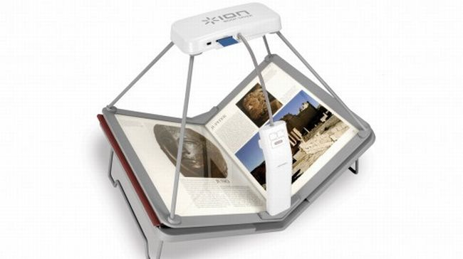 Book Saver Book Scanner