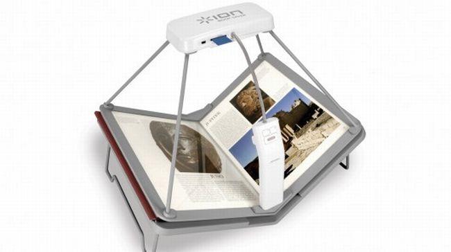 Book Saver Book Scanner