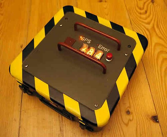 DIY GPS briefcase