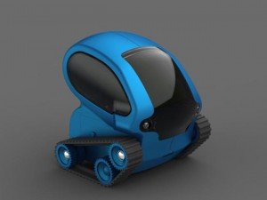 Desk Pets TankBot Is Controlled By Your iPhones Accelerometer