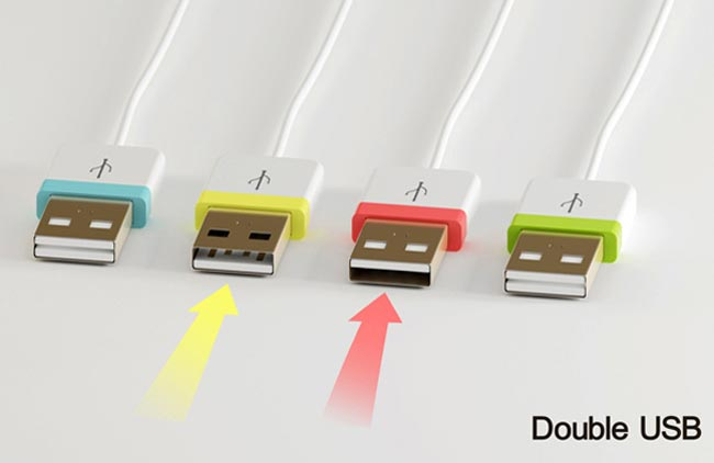 Double U USB