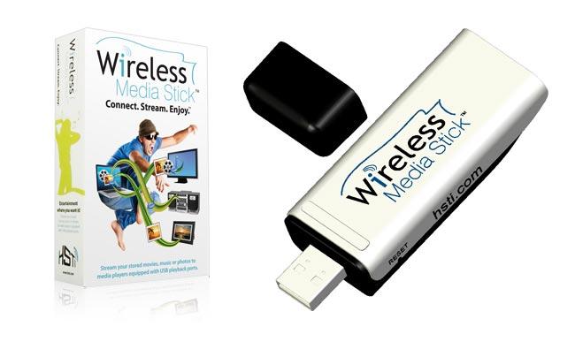 HSTi Wi-Fi Streaming Media Stick