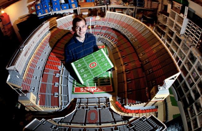 Lego Ohio Stadium