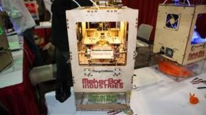 MakerBot 3D Printer Makes Splash At CES