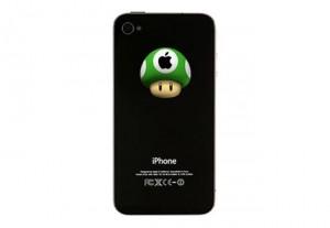 Mario 1Up Mushroom iPhone Decal