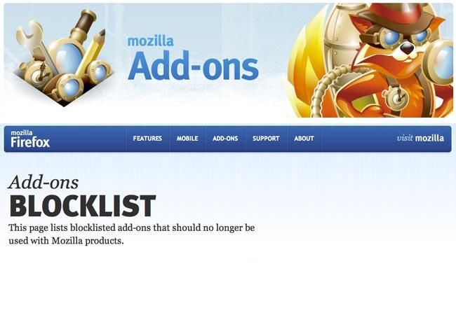 Mozilla Blocks Skype