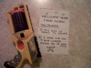 Ignite The Romance With Surprise Nerf Gun Duels