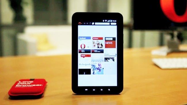 Opera Tablet Browser