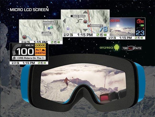 Recon GPS Goggles