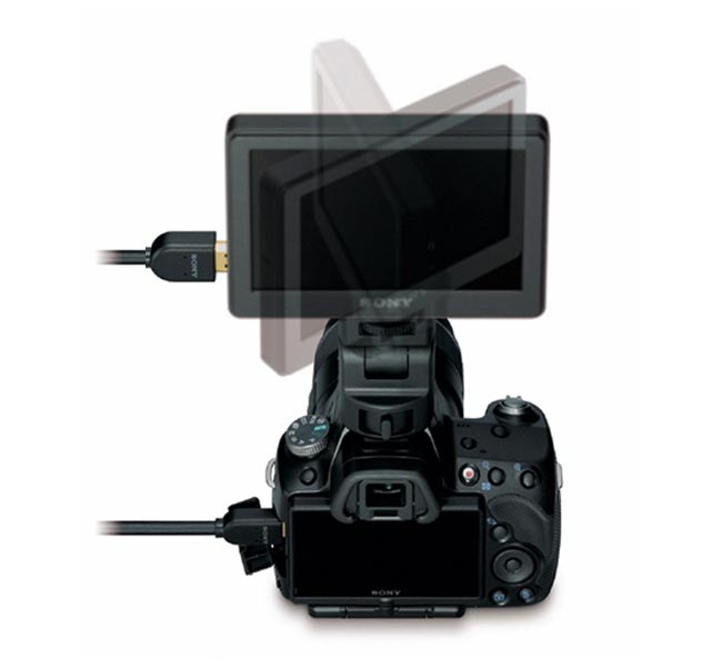 Sony Announces CLM-V55 Clip On LCD Monitor For DSLRs