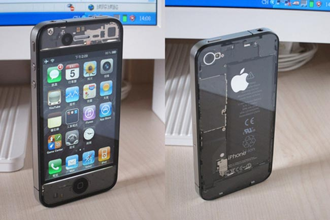 Transparent iPhone 4
