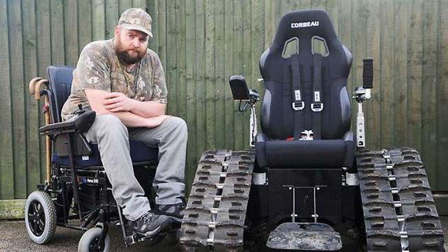 Wheelchair Tank