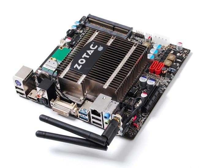 Zotac Atom D525 ION Mini-ITX board