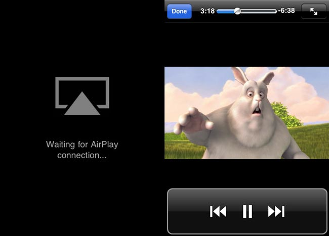AirView Turns Your iOS Device Into An AirPlay Receiver