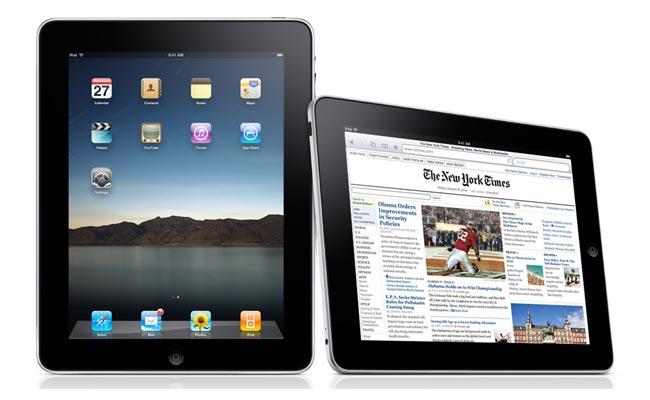 Apple iPad UI