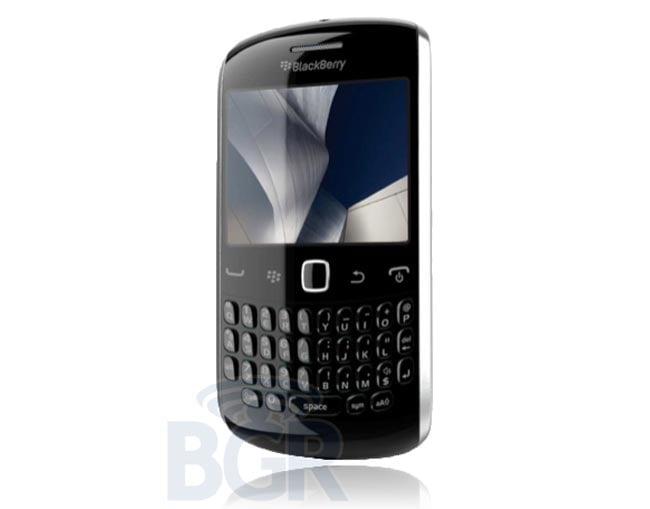 Next Generation BlackBerry Curve Leaked