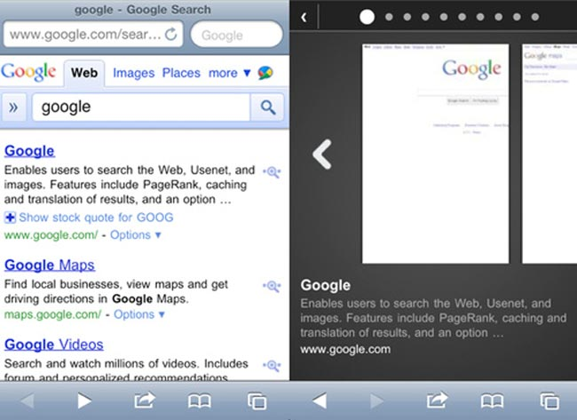 Safari For iOS Devices To Get Google Instant