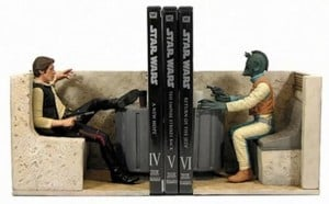 Han Solo An Greedo Star Wars Book Ends