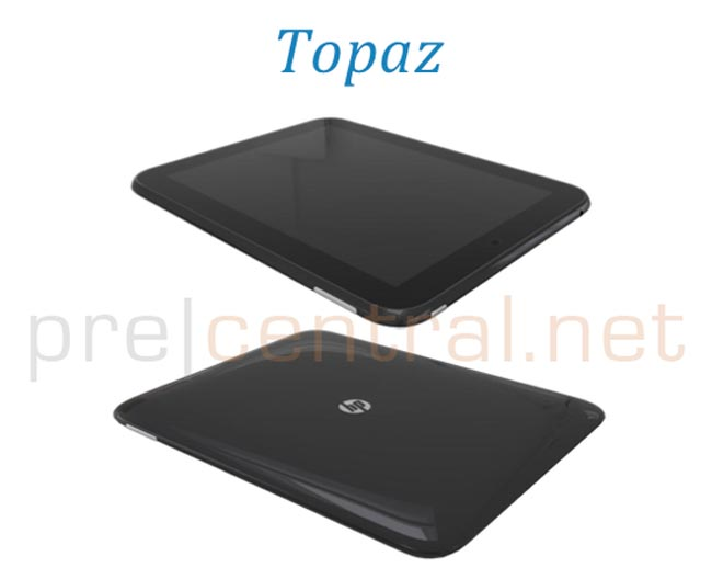 HP Topaz webOS Tablet