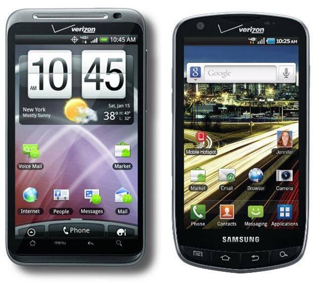 HTC Thunderbolt And Samsung 4G LTE Smartphone Headed To Verizon In February