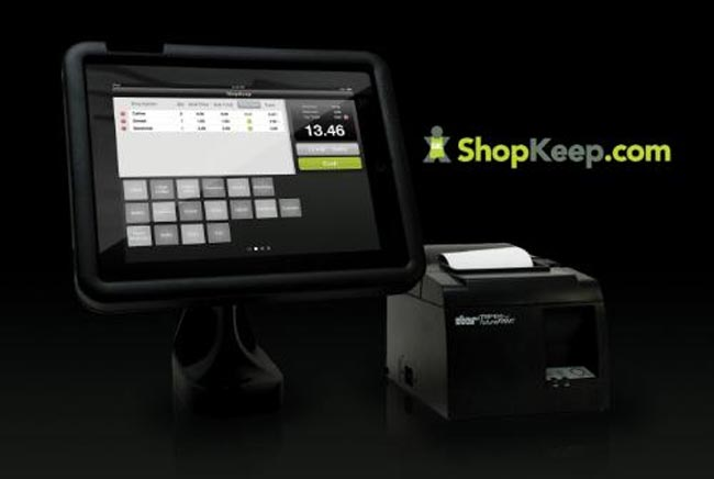 iPad cash register app