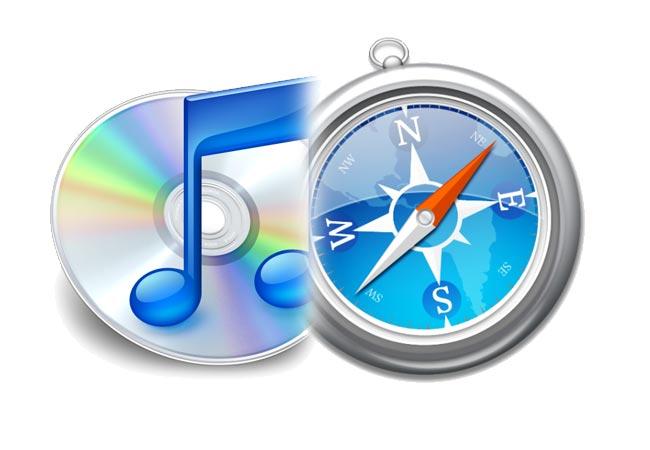 iTunes Safari
