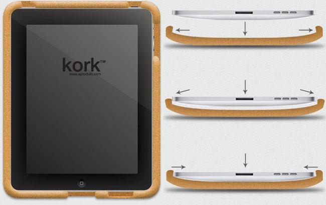 Kork iPad Case