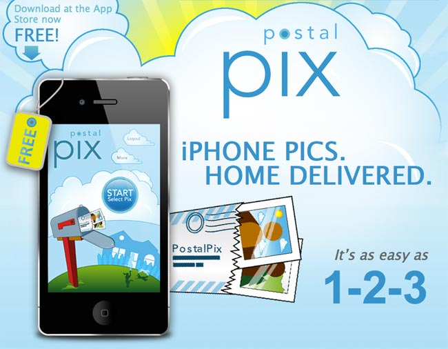 postalpix iphone app