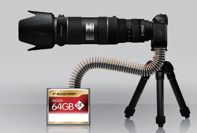 Silicon Power 64GB CF Card