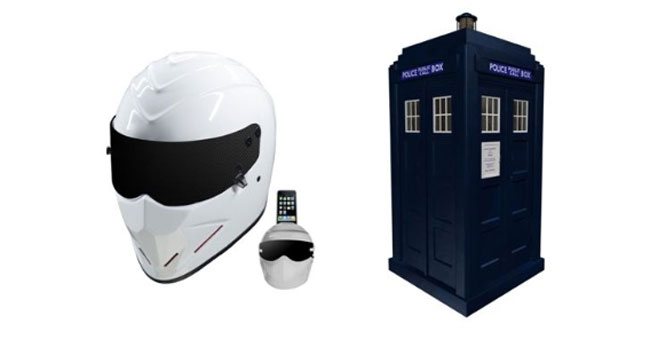 Speakal The Stig and Tardis Speakers