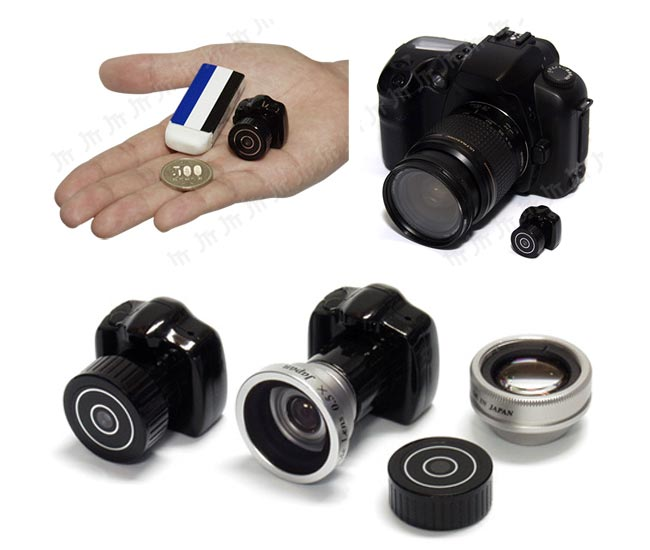 Tiny DSLR Spy Camera