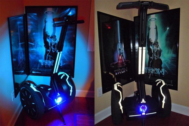 Tron Inspired Custom Segway