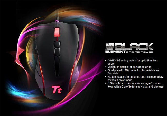 Black Element Gaming Mouse