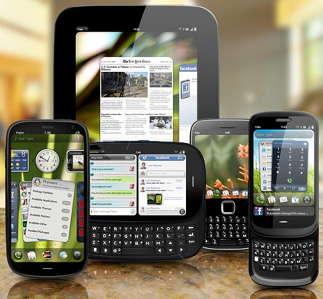 HP Palm's weboS Tablets To Beging Shipping In March?