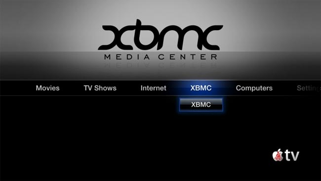 XBMC Apple TV Hack