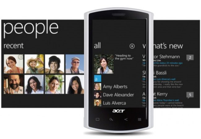 Acer's Windows Phone 7 Smartphones Coming This Year