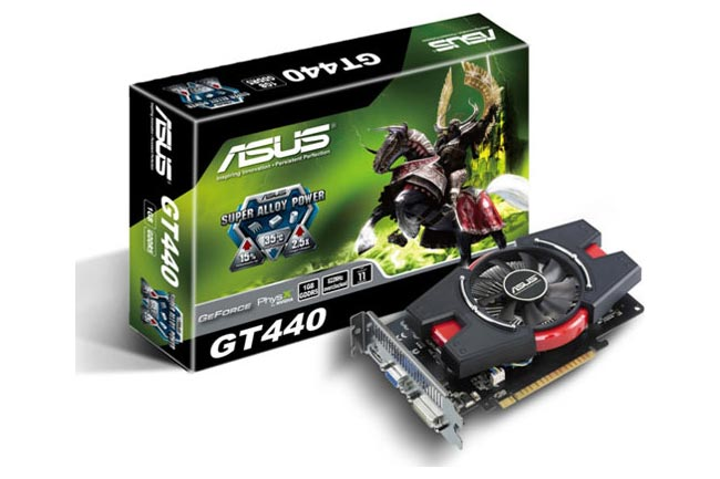 Asus GT 440 With Super Alloy Power Technology