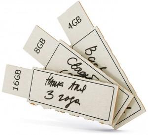 Cardboard USB Drive