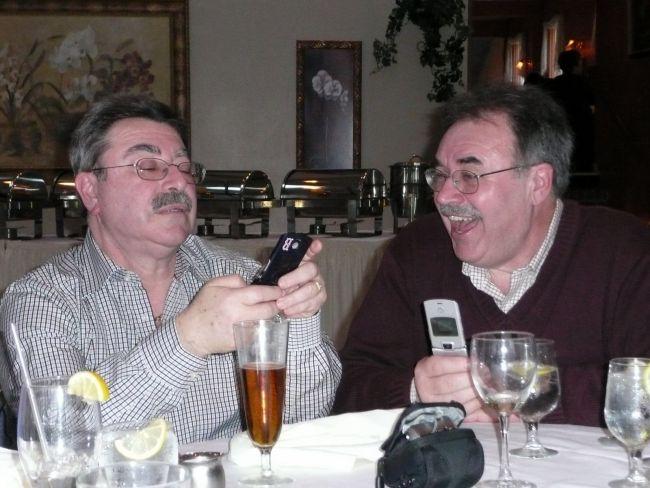 Dueling cellphones