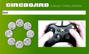 Circboard Keyboard Makes Xbox 360 Typing a Pleasure (video)
