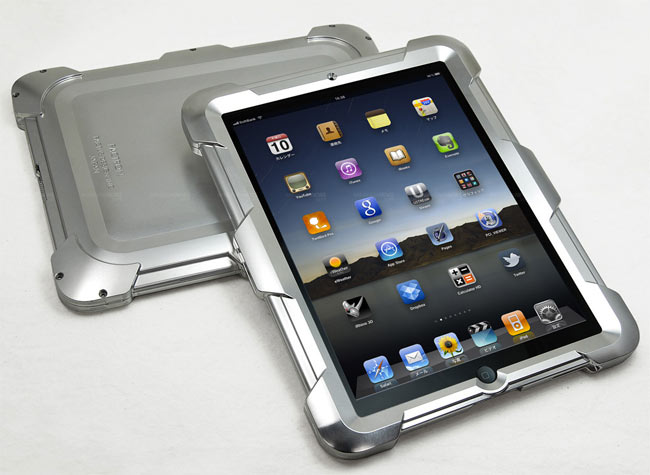 Factron Aluminium iPad Case