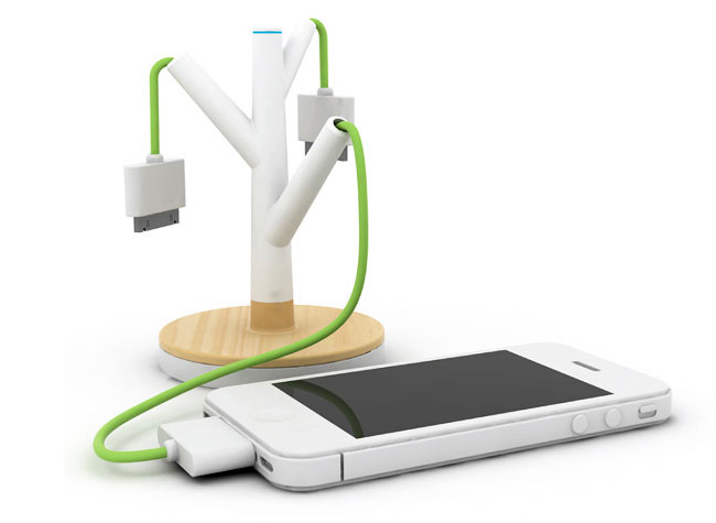 Giving Tree Charging Station