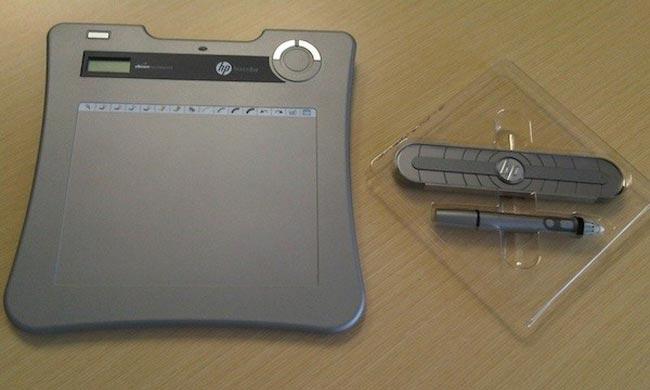HP Digital Sketch And Pocket Whiteboard
