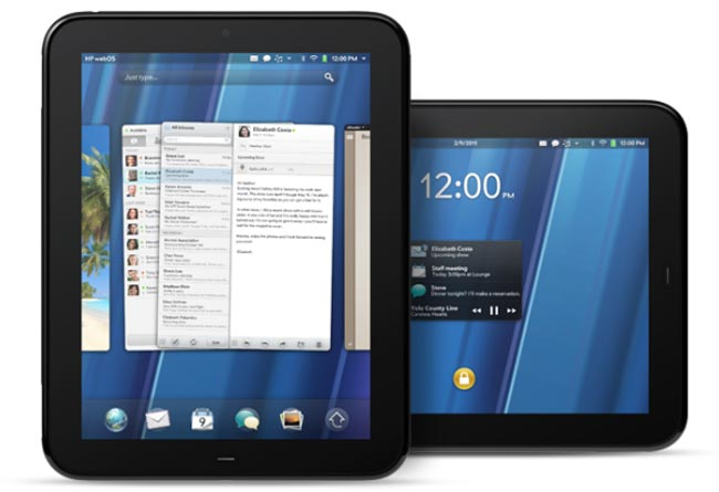 HP TouchPad webOS Tablet Coming In April