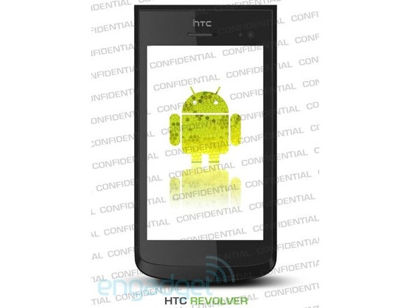 HTC Revolver Android Honeycomb Smartphone Leaked?