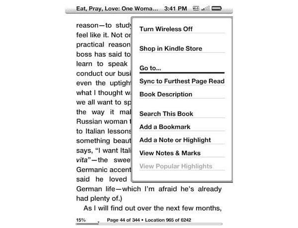 Kindle Update
