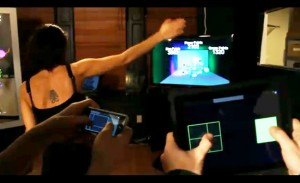 Kinect iPad, iPhone Dodgeball Hack