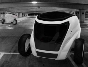 Three Wheeled Electric Car Concept Looks Do-Able